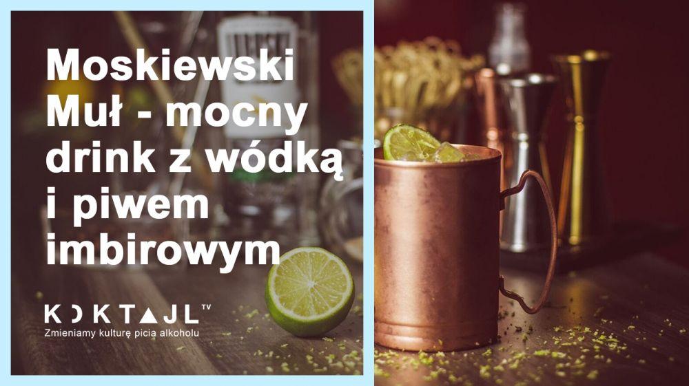 Przepis na drinka Moscow Mule