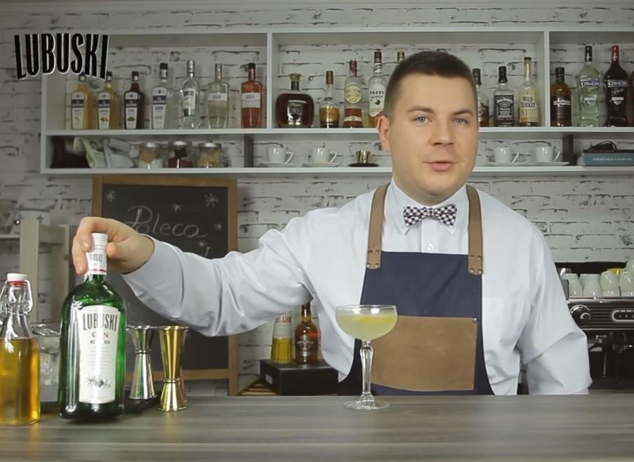 Bee's Knees - prosty orzeźwiający drink z ginem.