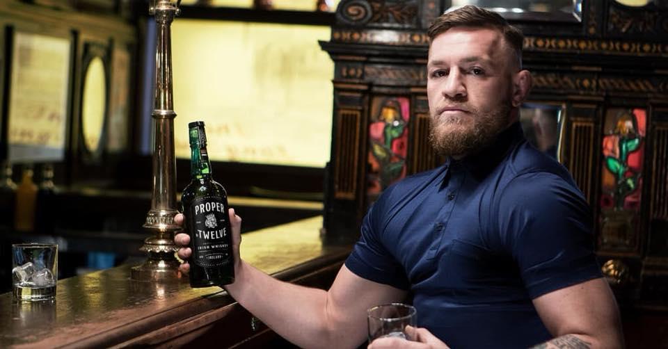 Proper Twelve Whiskey - nowa Irlandzka whiskey od Connora McGregora.