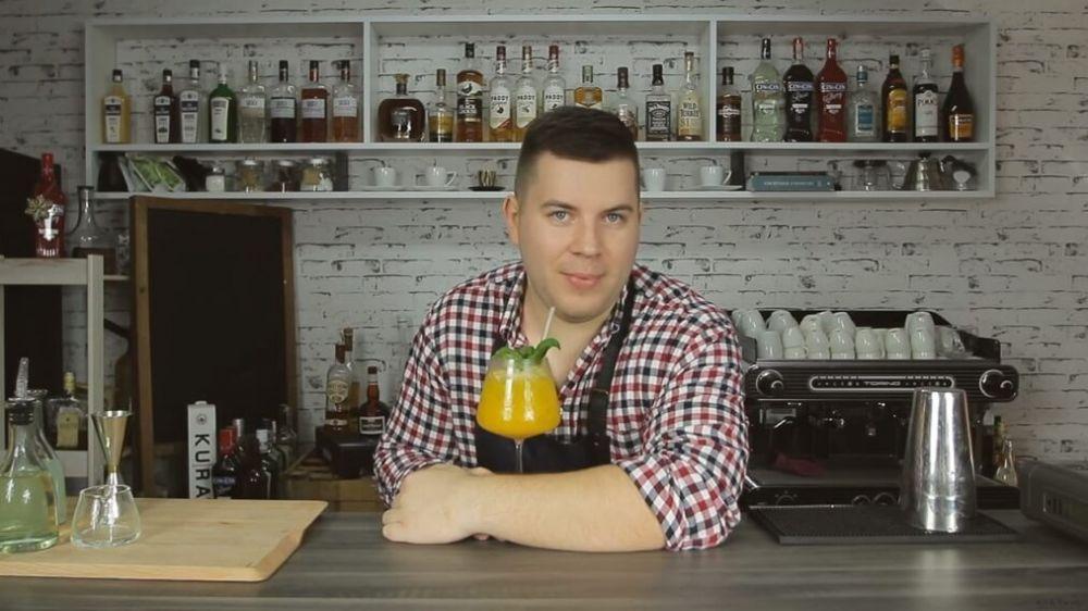 Mango Paradise - słodki koktajl z wódką i mango.