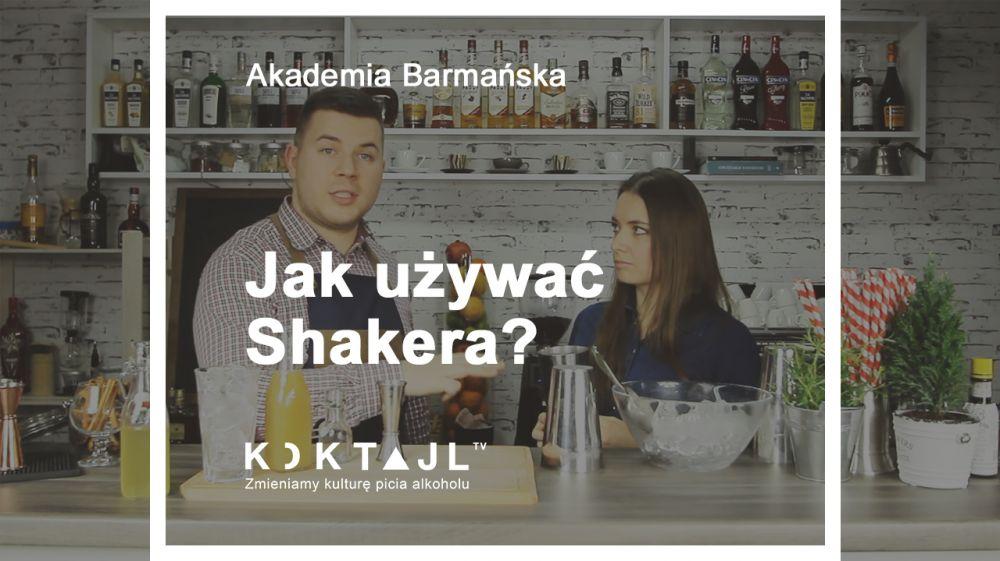Akademia Barmańska Koktajl.TV -  Jak używać shakera, techniki shakerowania.