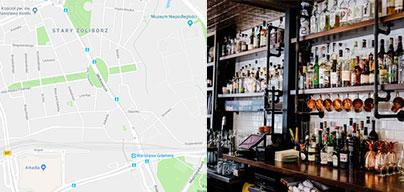 Mapa barów