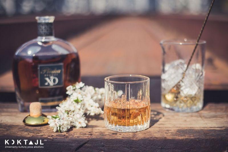 Brandy Fashioned - męski drink z Pliską X.O