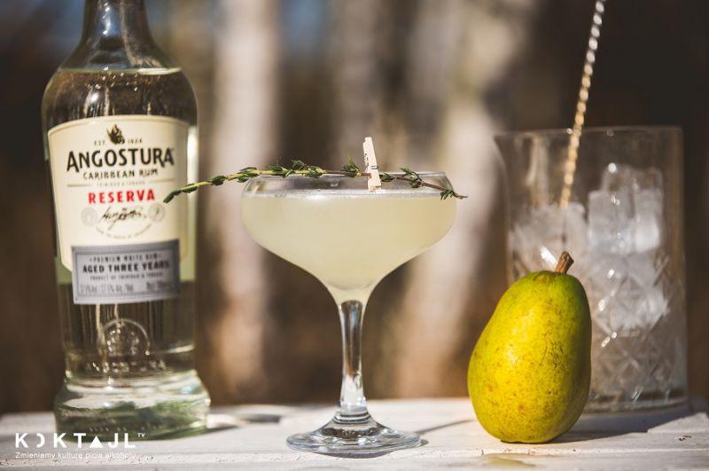 Polskie Daquiri – przepis na gruszkowy drink z rumem i limonką!
