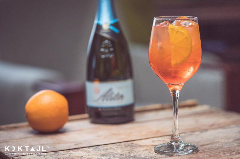 Winter Spritz – zimowy drink w stylu Aperol Spritz