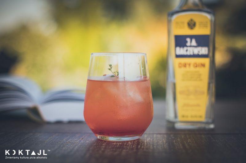 Ruby Red – drink z grejpfrutem, ginem i Campari!
