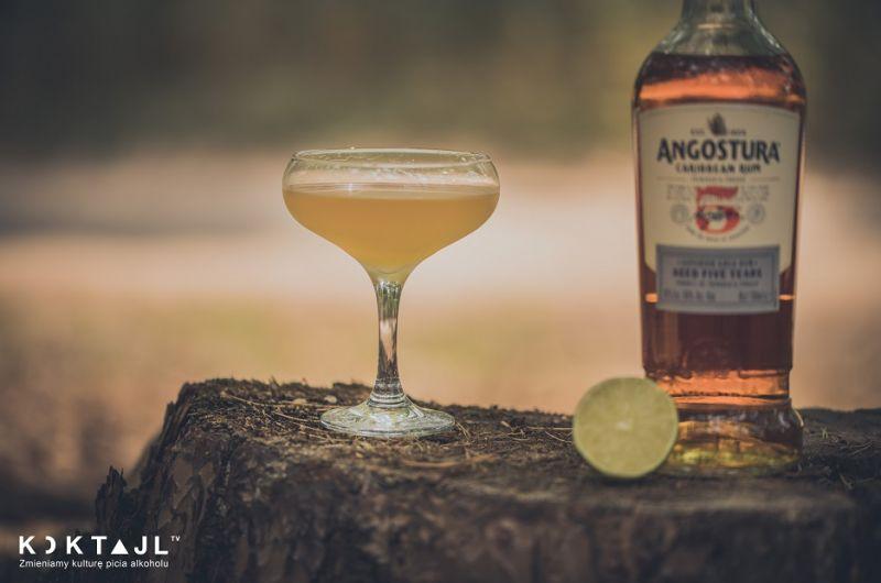 Honey Rum Martini - miodowy drink z ciemnym rumem