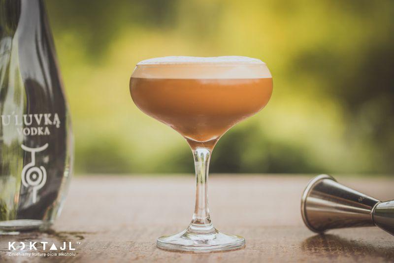 Espresso Martini - kawowy drink z wódką.