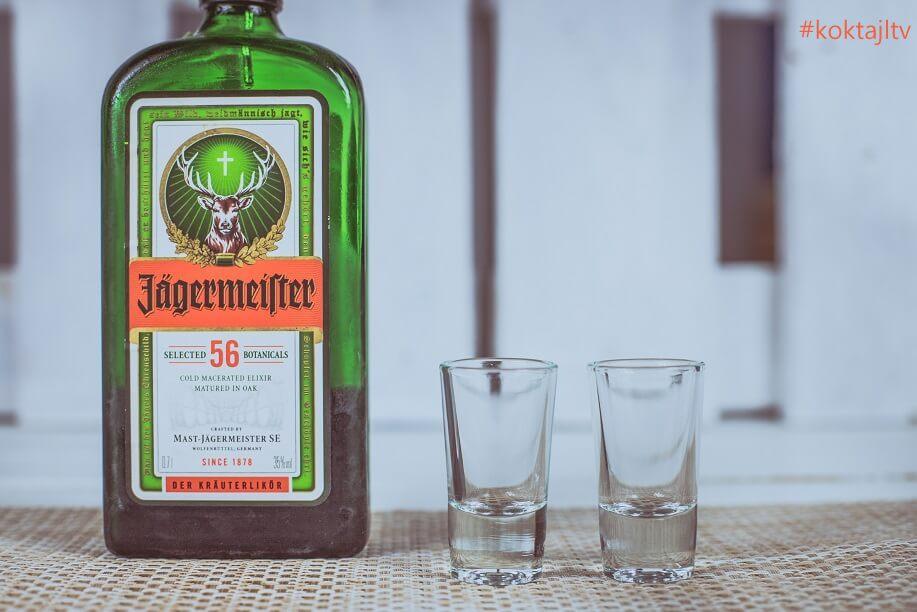 Z czym pić Jagermeistera.
