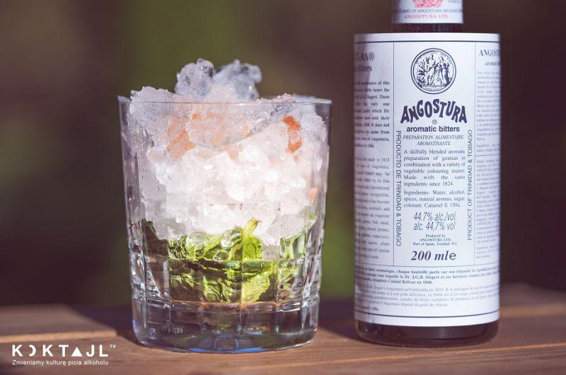 Rum Julep – rozgrzewający drink z rumem na jesień.