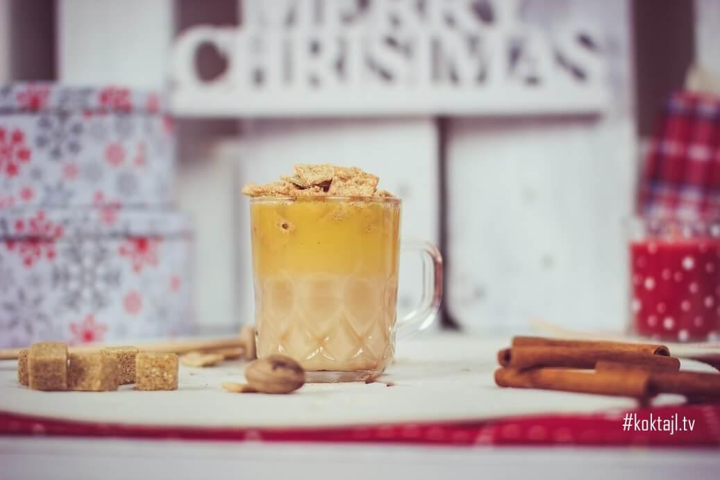Hot Buttered Rum! Grzany rum z masłem i płatkami Cini minis.