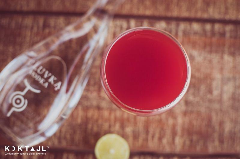 East cherry blossom - wiśniowy drink z wódką