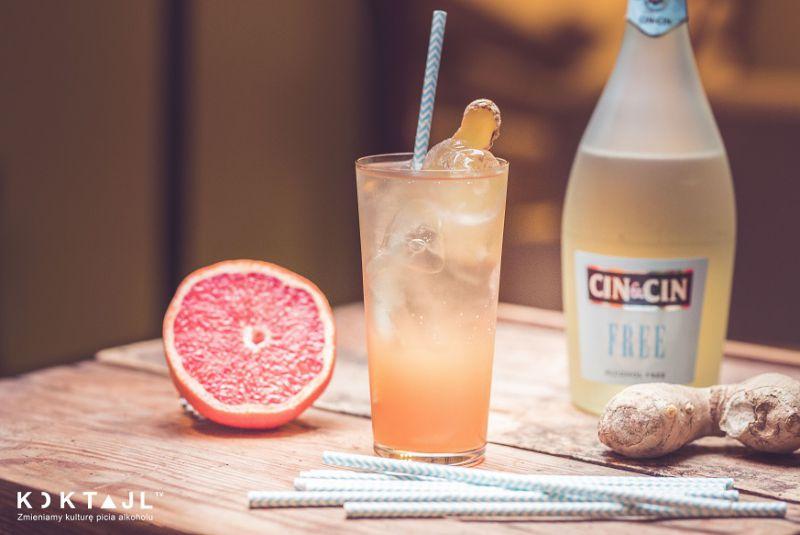 Wenecki Spritz - bezalkoholowy drink z grejpfrutem