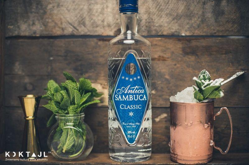Sambuca Julep - miętowy drink z nutą anyżowego alkoholu