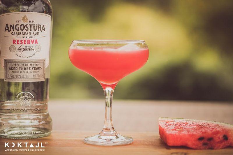 Arbuzowe Daiquiri  - przepis na drinka z arbuzem