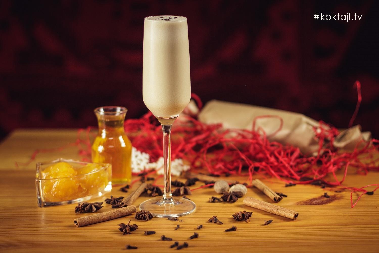 Czekoladowa Rozkosz - deserowy słodki drink z brandy Pliską Honey.