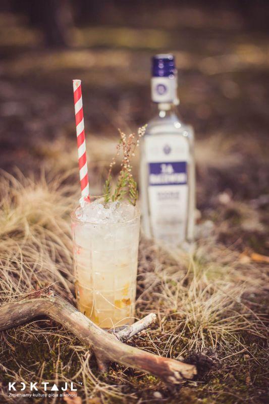 Gruszkowy Collins - prosty drink z wódką.