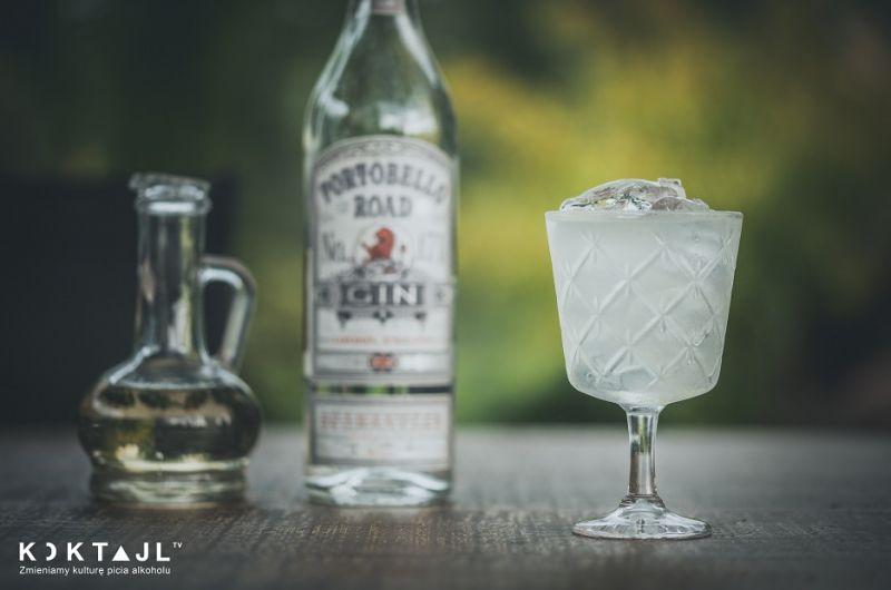 Lawendowy Dom - drink z ginem i lawendą