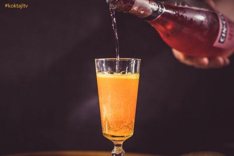Prosecco z watą cukrową - magiczny, znikający drink.