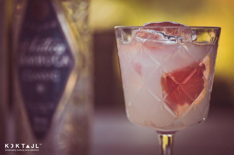 Aperitivo - drink z Sambucą i ginem na lato!