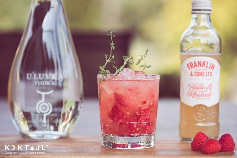 Raspberry Smash – malinowy drink z wódką na lato