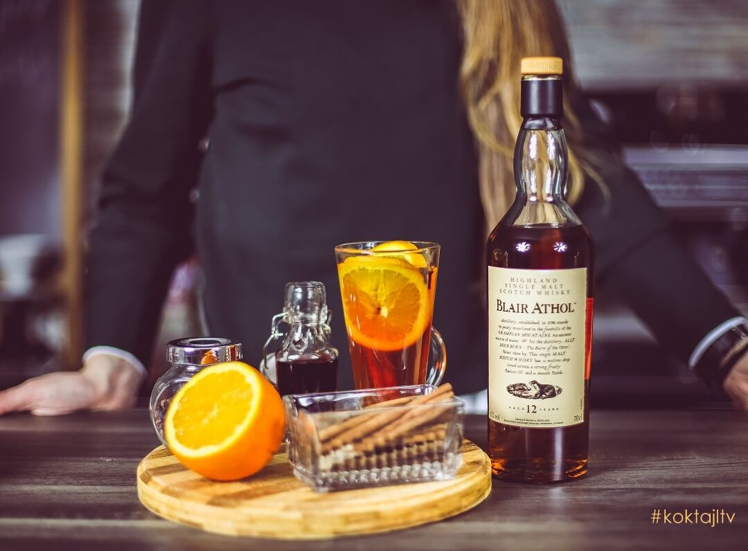 Blair Athol Hot Toddy - rozgrzewający drink z whisky single malt.