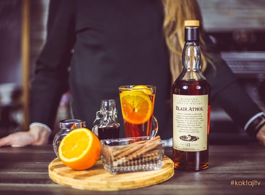 Blair Athol Hot Toddy - rozgrzewający drink z whisky single malt.