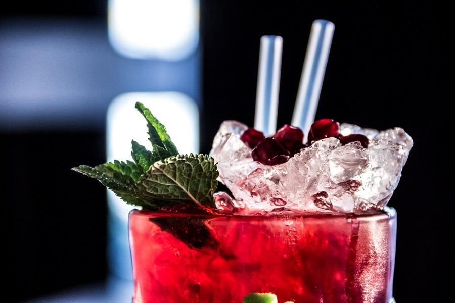 Żurawinowa Pokusa - drink z sokiem żurawinowym i wódką