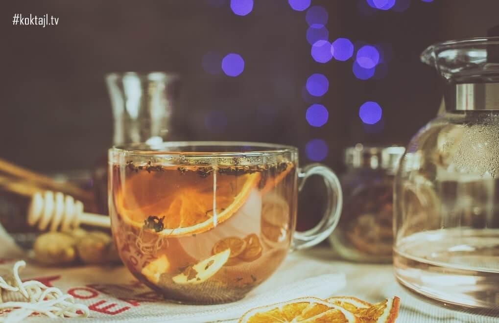Przepis na herbatę zimową z przyprawami.