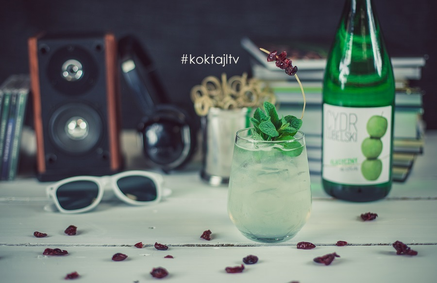 Party Cider Bitter - imprezowy drink z wódką i cydrem.