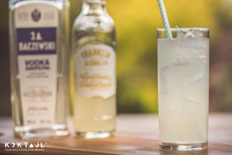 Martwica Mózgu  – mocny drink z wódką i napojem imbirowym