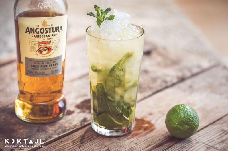 Przepis na drinka Mojito (mohito) z ciemnym rumem