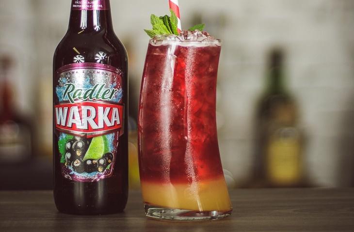 Orzeźwiający półsłodki drink z Warką Radler - Fresh & Stormy.