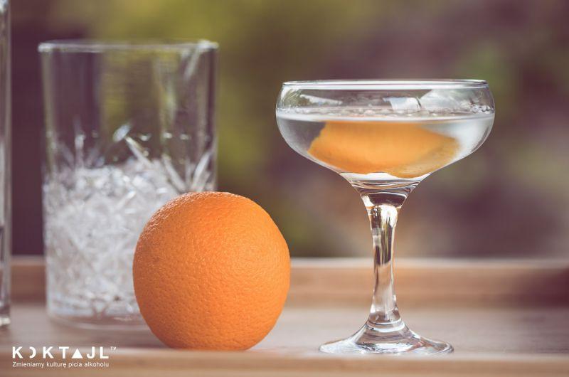 Orange Martini -  drink z wódką i likierem pomarańczowym od J.A Baczewskich!