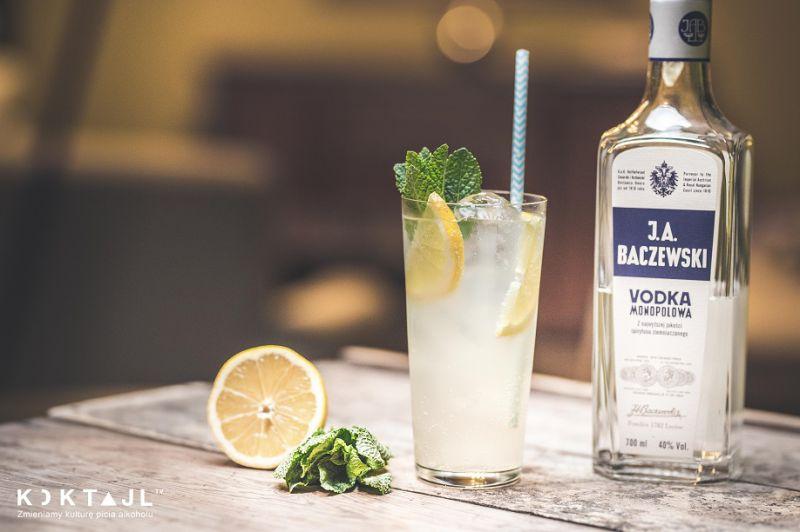 Wódka z Lemoniadą - prosty drink na wakacje.