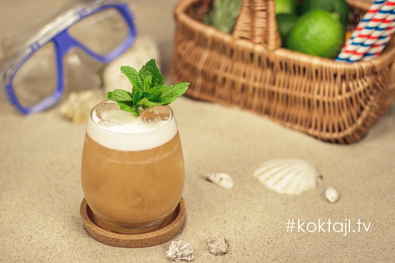 Wódka Sour - najprostszy orzeźwiający klasyczny drink z wódką